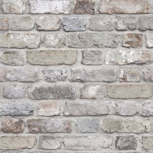 Grandeco Facade Brick Pastel Paste the Wall Wallpaper