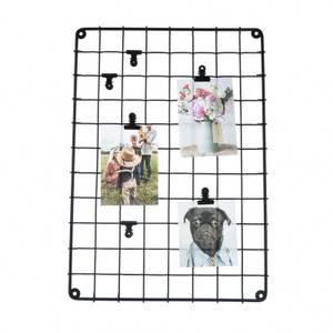 Wire Memo Board - Matt Black