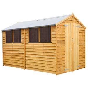 Mercia (Installation Included) 10x6ft Overlap Apex Shed