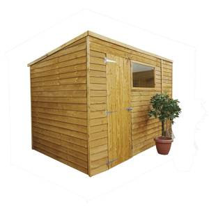 Mercia 10 x 6ft Overlap Pent Shed (Installation Included)