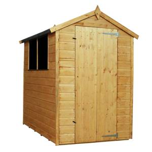Mercia (Installation Included) 6x4ft Shiplap Apex Shed
