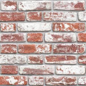 Fresco House Brick Red Wallpaper
