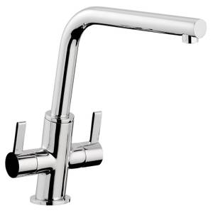 Slanto Dual Handle Mono Tap Chrome