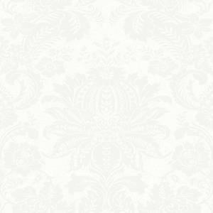 Superfresco Easy Floral Damask White  Wallpaper