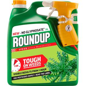Roundup Speed Ultra Ready To Use Weedkiller - 3L