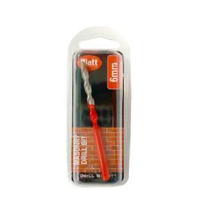 6mm Red Masonry Drill Bit