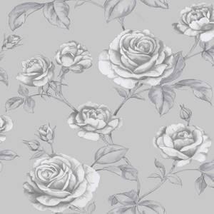 Boutique Countess Silver Wallpaper