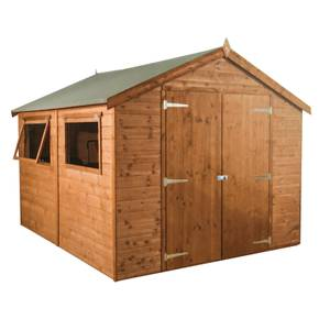 Mercia (Installation Included) 10x8ft Premium Tongue & Groove Apex Shed