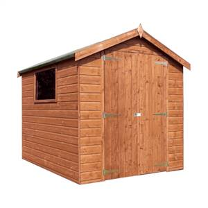 Mercia (Installation Included) 8x6ft Premium Tongue & Groove Apex Shed
