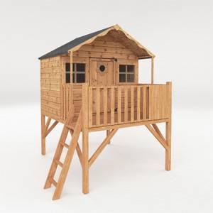 Mercia (Installation Included) Honeysuckle Tower Playhouse
