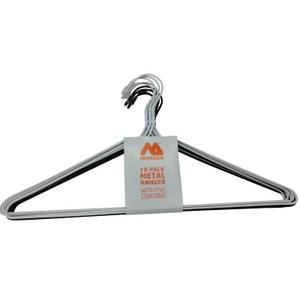 Metal Clothes Hangers - 10 Pack