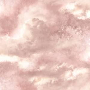 Arthouse Diamond Galaxy Clouds Textured Glitter Blush Pink Wallpaper