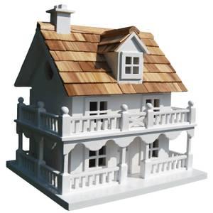 Novelty Cottage White Bird House