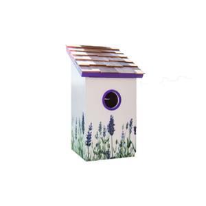 Saltbox Bird House Lavender