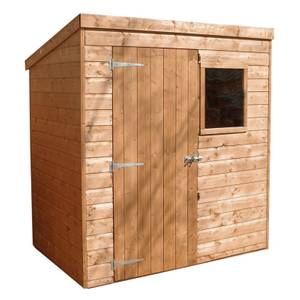 Mercia (Installation Included) 6x4ft Shiplap Pent Shed