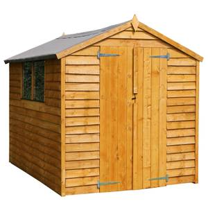 Mercia (Installation Included) 8x6ft Overlap Apex Shed