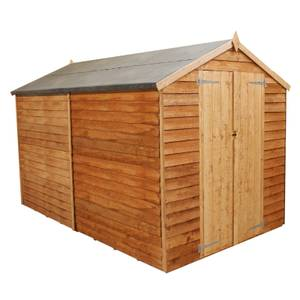 Mercia (Installation Included) 10x6ft Overlap Apex Windowless Shed