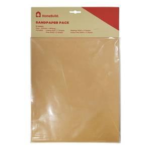 Homebuild Sandpaper - Pack of 15