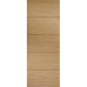 Lille Internal Prefinished Oak Fire Door - 686 x 1981mm