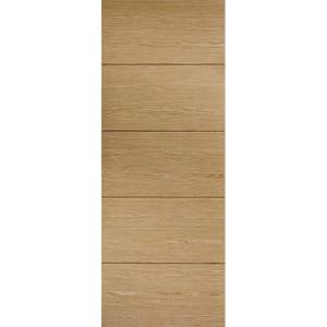 Lille Internal Prefinished Oak Fire Door - 838 x 1981mm