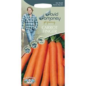 David Domoney Carrot Finger Seeds