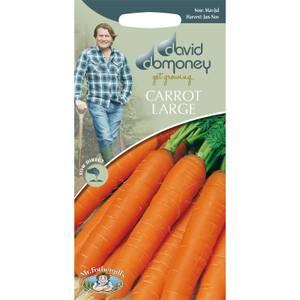 David Domoney Carrot Large Seeds