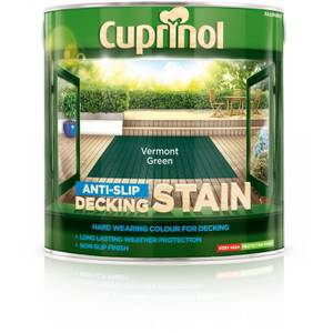 Cuprinol Decking Stain - Vermount Green - 2.5L
