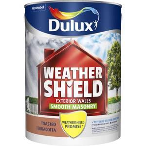 Dulux Weathershield Masonry Paint - Toasted Terracotta - 5L