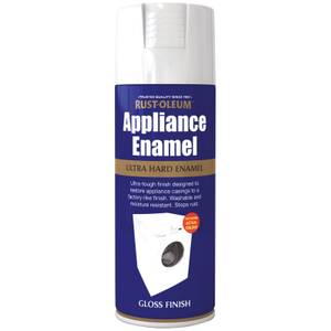 Rust-Oleum Appliance Spray Paint - White - 400ml