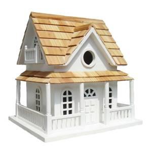 Hobbit House Bird House White
