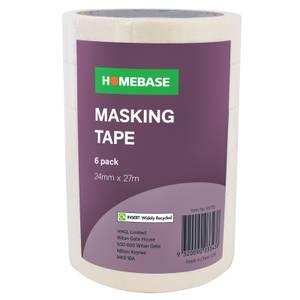 Pack of 6 Masking Tape