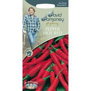 David Domoney Pepper Hot Red Seeds