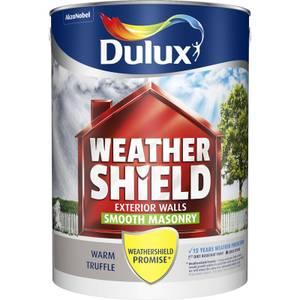 Dulux Weathershield Masonry Paint - Warm Truffle - 5L