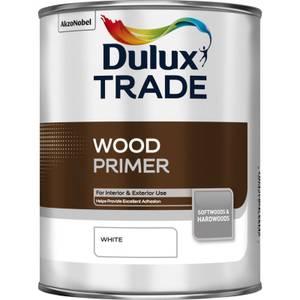 Dulux Trade Wood Primer - White - 1L