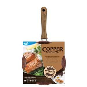 JML Copper Stone Pan - 28cm