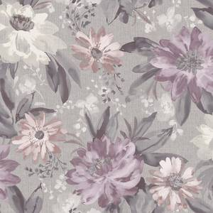Arthouse Painted Dahlia Floral Smooth Heather Multi Coloured Wallpaper