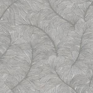 Belgravia Decor Merano Tree Embossed Metallic Gunmetal Grey Wallpaper