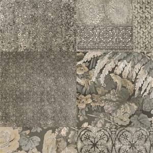 Belgravia Decor Coca Cola Embossed Metallic Grey Bronze Wallpaper