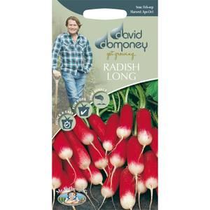David Domoney Radish Long Seeds