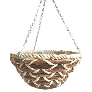 Banana Braid Hanging Basket 35cm
