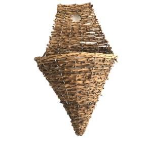 Rattan Wall Cone 30cm