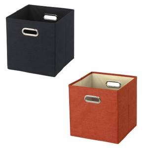 Brooklyn Compact Cube Fabric Inserts - Set of 2