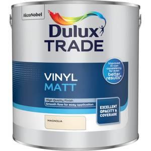 Dulux Trade Vinyl Matt - Magnolia - 2.5L