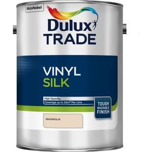 Dulux Trade Vinyl Silk - Magnolia - 5L