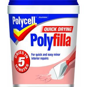 Quick Drying Polyfilla Tub - 1kg