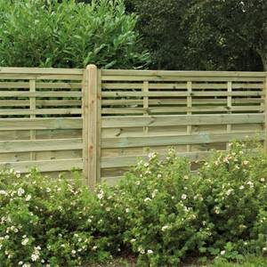 Forest Kyoto Fence Panel - 4ft - Pack of 4