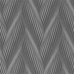 Belgravia Decor Coca Cola Geometric Embossed Metallic Slate Grey Wallpaper