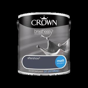 Crown Standard Matt Emulsion - Aftershow - 2.5L