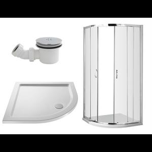 Balterley 900mm Quadrant Shower Enclosure Package (5mm Glass)