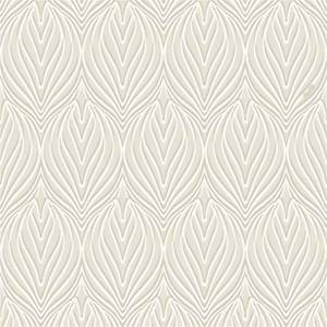 Belgravia Decor Coca Cola Damask Embossed Metallic Ivory Wallpaper